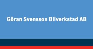 Göran Svensson Bilverkstad AB